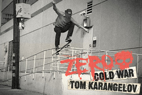 Zero Skateboards – 'Cold War'