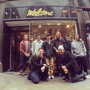 New Balance Numeric team at Welcome Skate Store