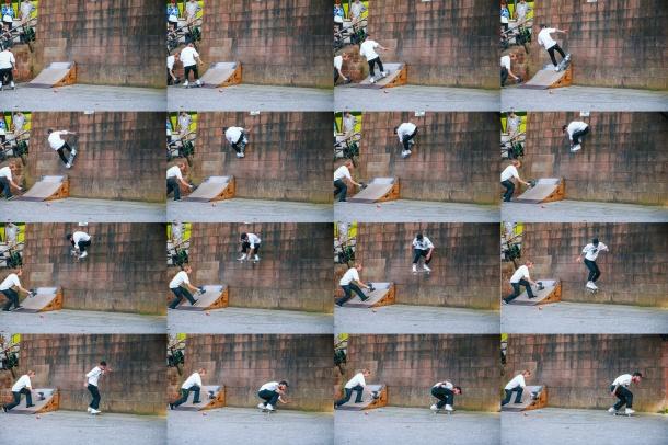 Rob Smith, Alley-Oop Wallride, Photo: CJ.