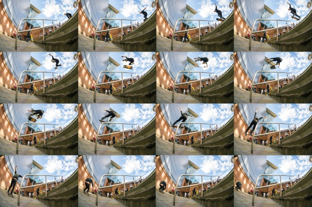 Curtis Munton, 360 Flip, Photo: CJ.