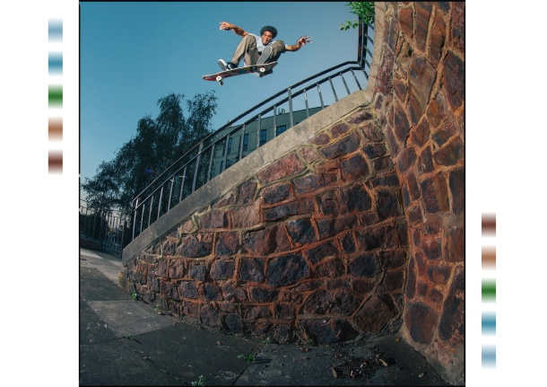 Korahn Gayle, Switch kickflip, Photo: Chris Johnson.