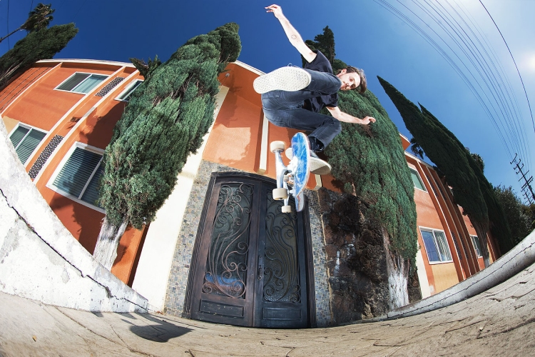 Austyn Gillette, Switch Backside Kickflip, Photo: HUF Worldwide