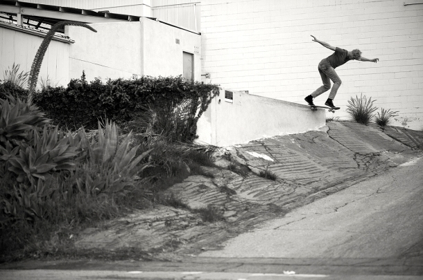 Johan Stuckey, Backside Tailslide, Photo - Brent O'Donnell. (January 2015)
