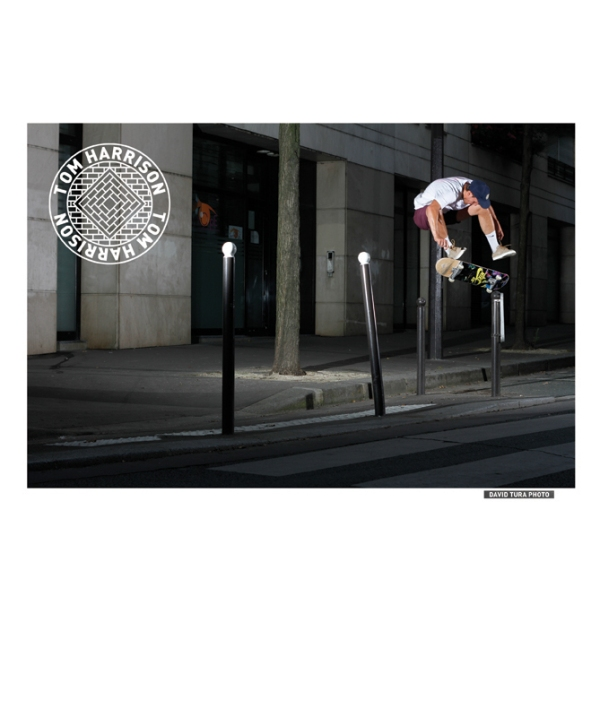 Tom Harrison, Heelflip.