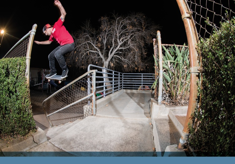 JT Aultz, gap to backside 5-0. Photo - Gabe Morford.