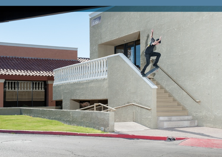 JT Aultz, noseslide. Photo - Gabe Morford.