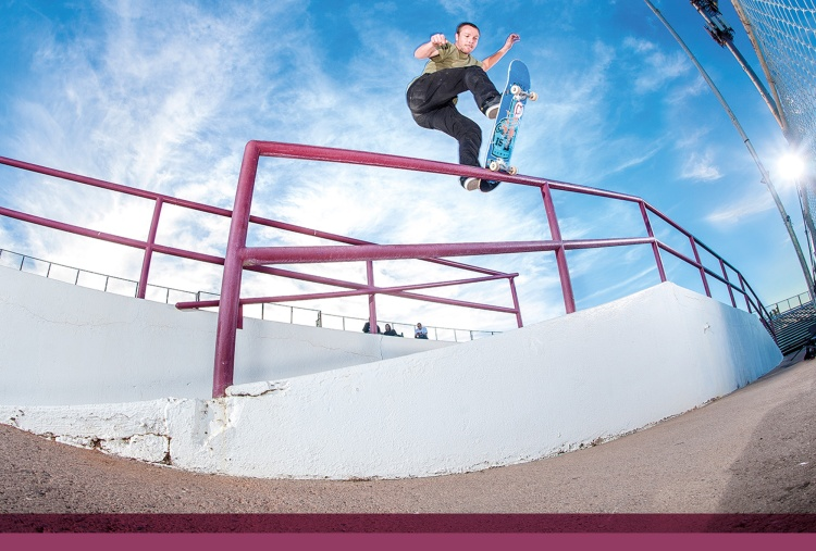 Robbie Brockel, frontside bluntside. Photo - Gabe Morford.