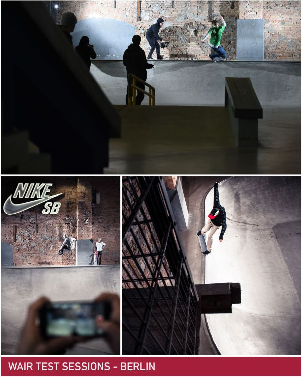 Shod Wair Test Nike SB Shelter Berlin