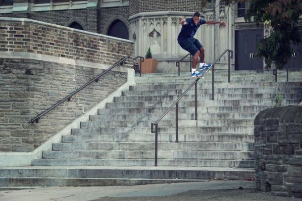 Ishod Wair, Frontside 5050, Photo - Nike SB