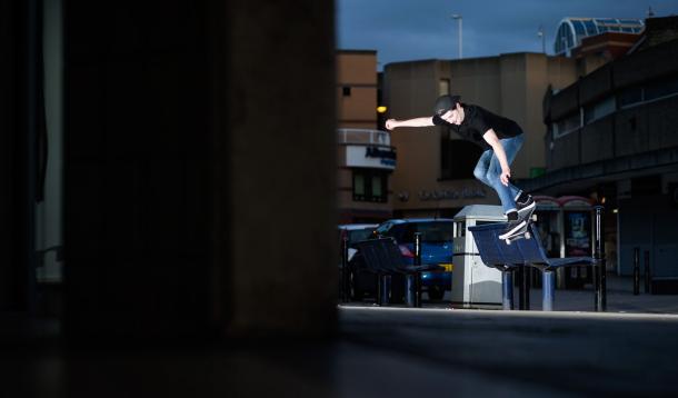 Myles Rushforth, Backside Smith, Photo - Reece Leung.