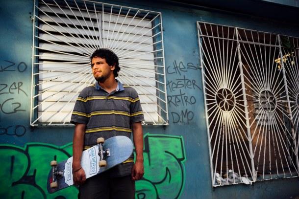 Vincent Alvarez Portrait, Welcome Skate Store Blog Interview