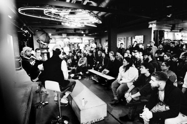 Eric Koston Q&A, Koston 3 Launch, Nike Town, London.