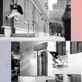 Josh Wilson & Dick Rizzo on Quasi Skateboards, New York City andBronze56K