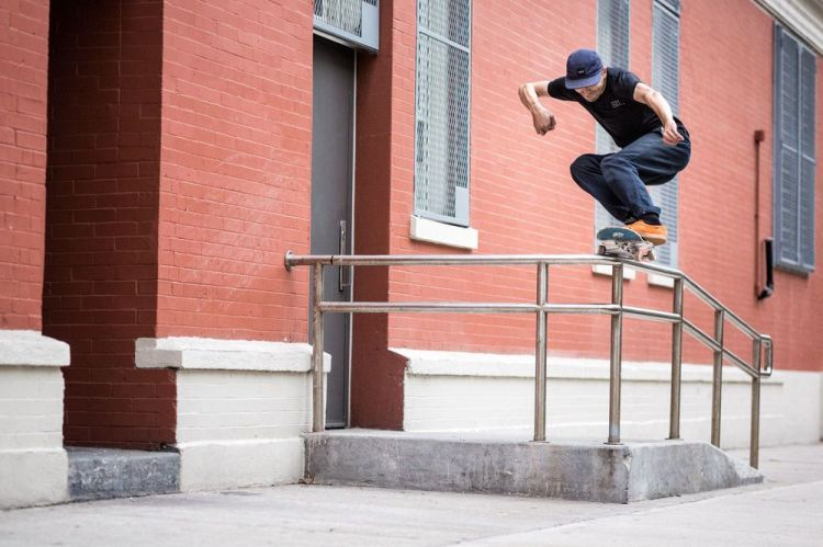 Aaron Herrington, Backside 5050, New York.