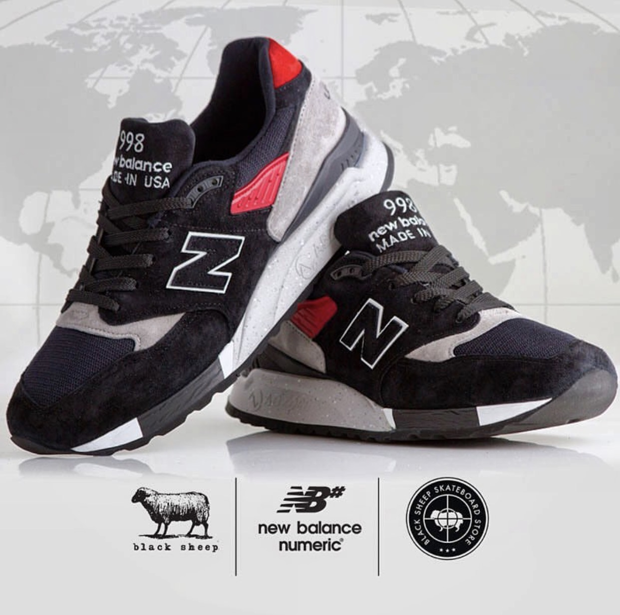 new balance black sheep