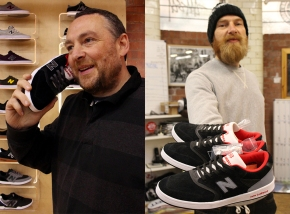 Black Sheep, Manchester & New Balance Numeric with Paul Harrison & Tez Robinson