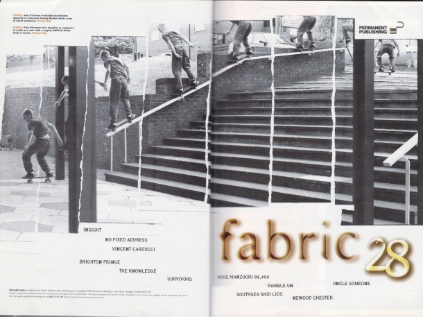 Paul Silvester switch 5050 Leeds photo Wig worland Sidewalk Magazine Issue 28