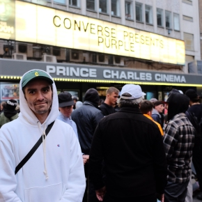 Converse Cons 'Purple' London PremiereRecap