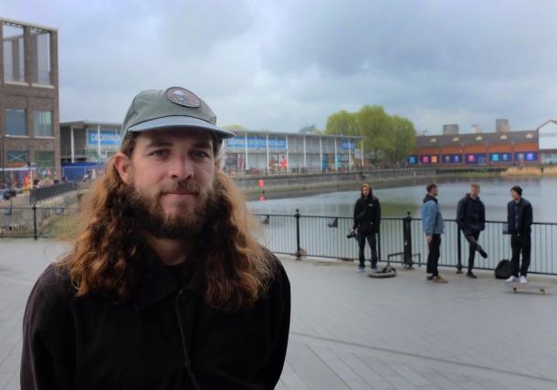 Brian Delatorre Canada Water Converse Cons Purple Session London