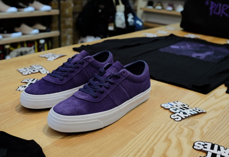 Converse Cons Purple One Star Slam City Skates Sidewalk Magazine Converse Cons Purple Premiere Recap photo Farran Golding