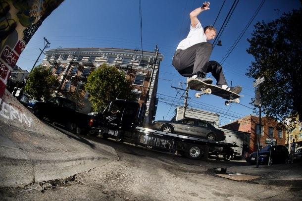 Casper Brooker ollie San Francisco photo Alex Pires Thrasher Magazine Pacifico Drift