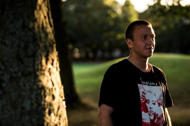 Casper Brooker portrait Hyde Park Leeds photo by Reece Leung Interview by Farran Golding Welcome Skate Store Blog