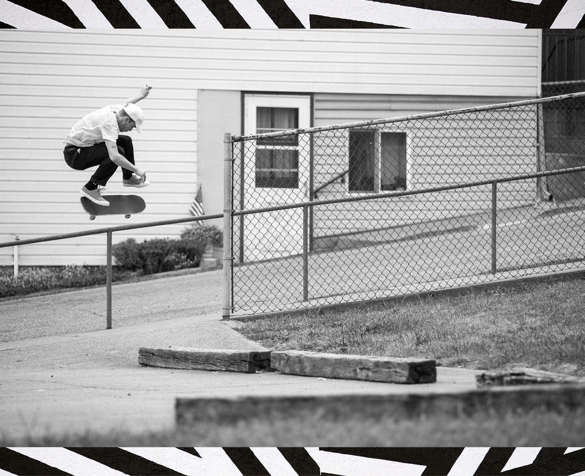 Brad Comer, backside kickflip.