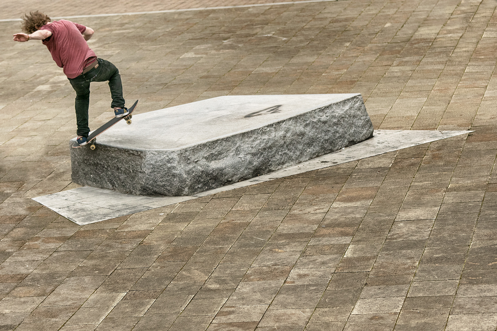 Silas Baxter-Neal, frontisde 180 fakie 5-0 revert, photo: Andrew Horsley